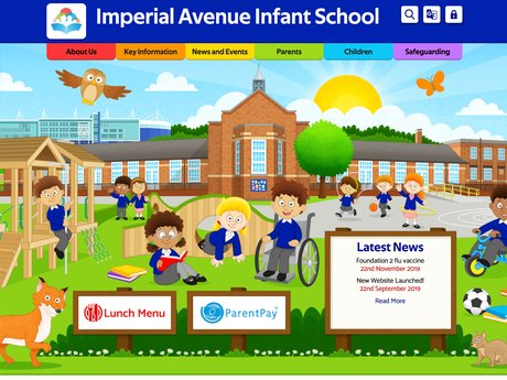 Website Design For Imperial Avenue Primary School