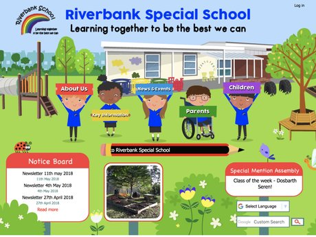 Website Design For Riverbank Special School