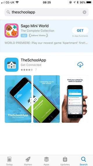 PrimarySite app screenshot of appstore