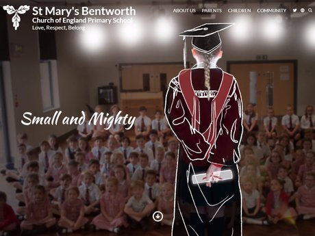 New Website Design For St Mary's Bentworth Church of England Primary School