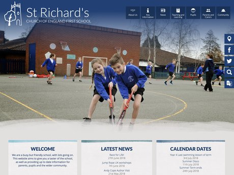Website Design For St Richard's Church of England First School