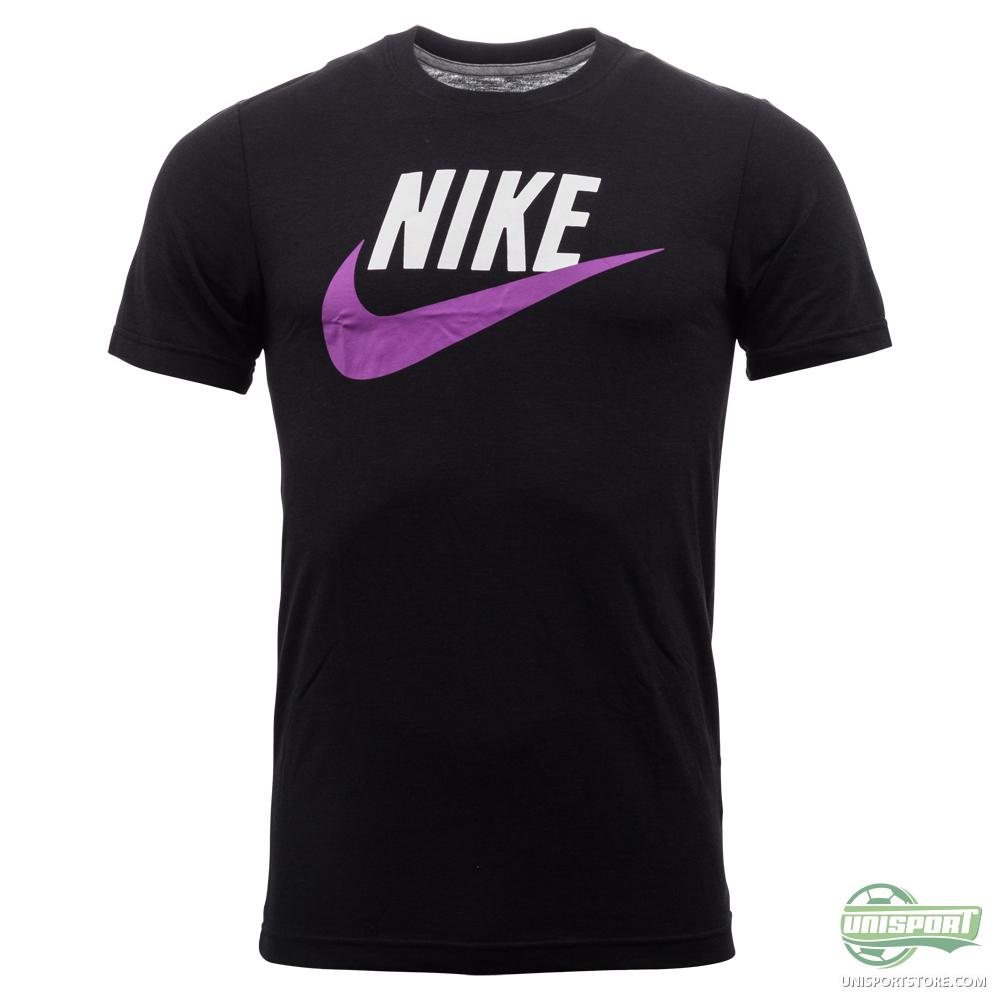nike t shirt icon black purple. Black Bedroom Furniture Sets. Home Design Ideas