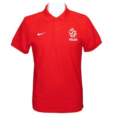 Polen Piké Nike Röd L
