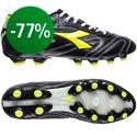 Diadora - Italica K-Leather Pro FG 14 Black/Yellow