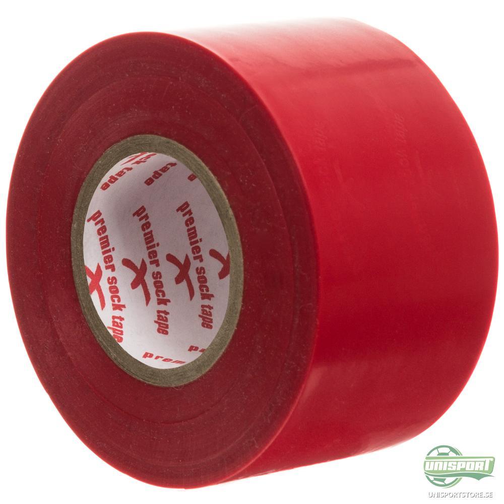 Premier Sock Tape Strumptejp Bred 20m Röd