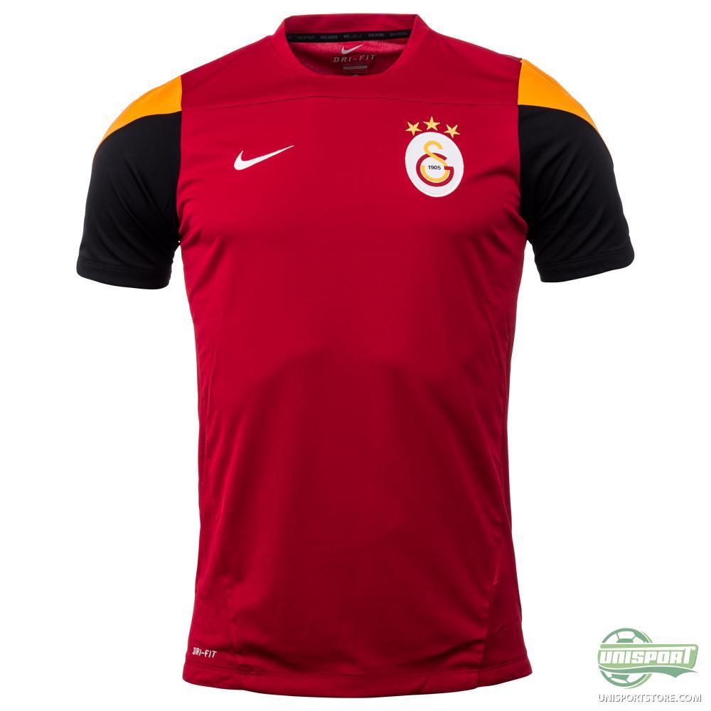 Galatasaray Training T Shirt Gym Red Vivid Orange White