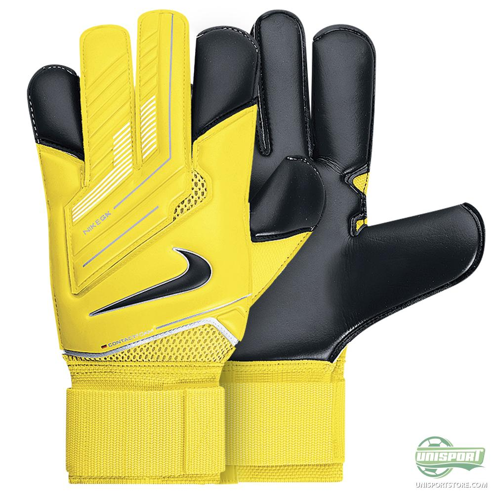 Nike Football Gloves Yellow: Nike - Goalkeeper Gloves Vapor Grip 3 Yellow/Black