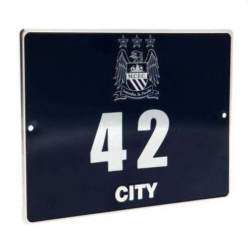 Manchester City Dörrskylt