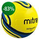 Mitre - Fodbold Ultimatch Fluo Gul/Blå
