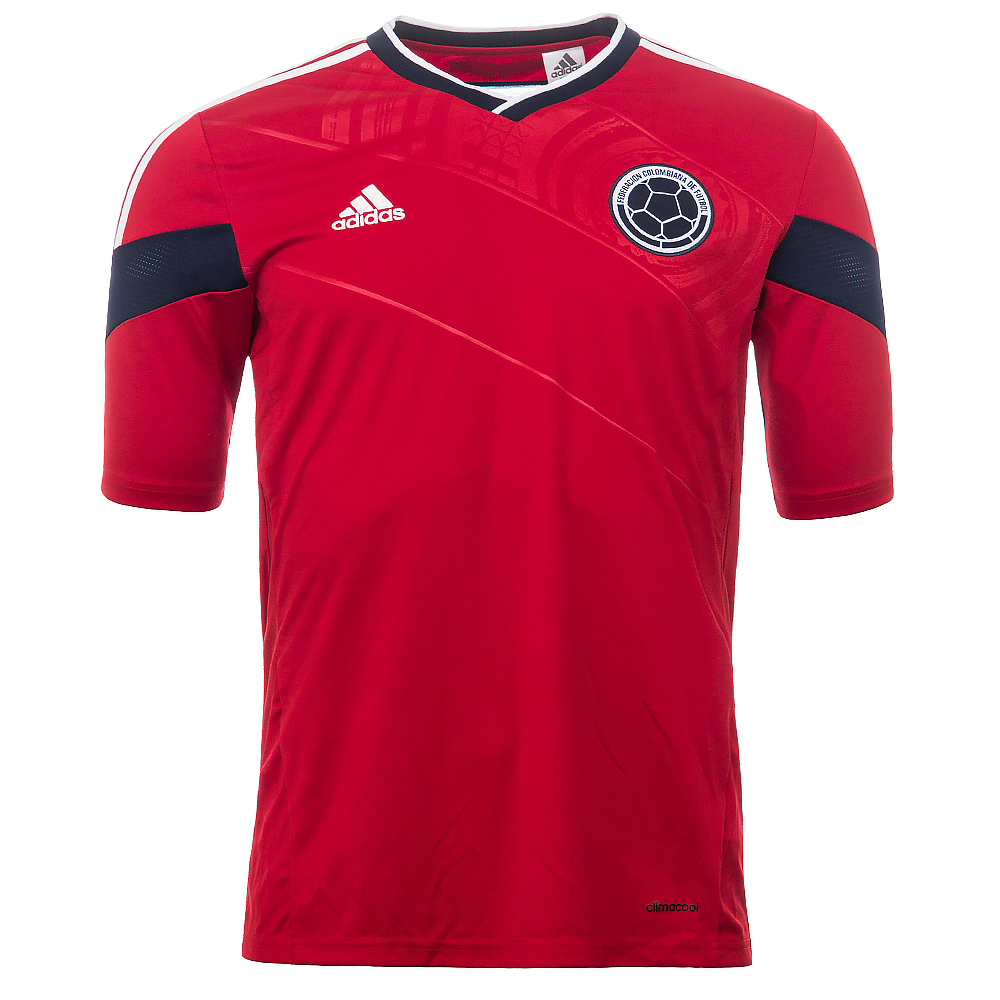 Columbia Football Shirt Columbia Away Shirt 2014 wc
