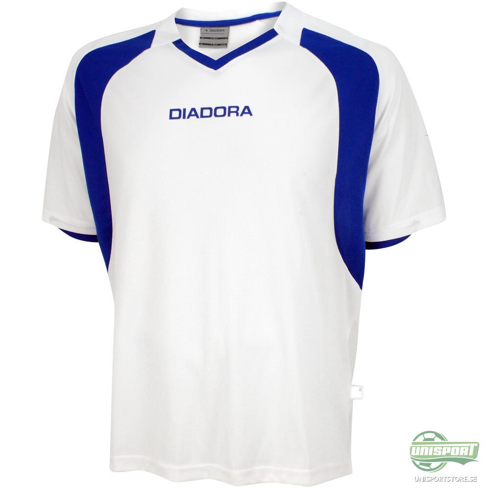 Diadora Matchtröja Brazilia Shirt Vit/Blå Barn