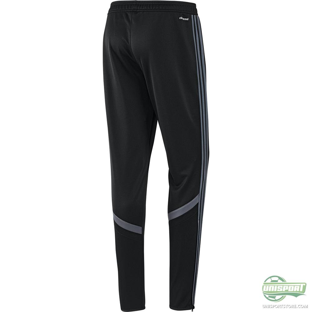 Adidas training trousers cono 14 black grey www unisportstore