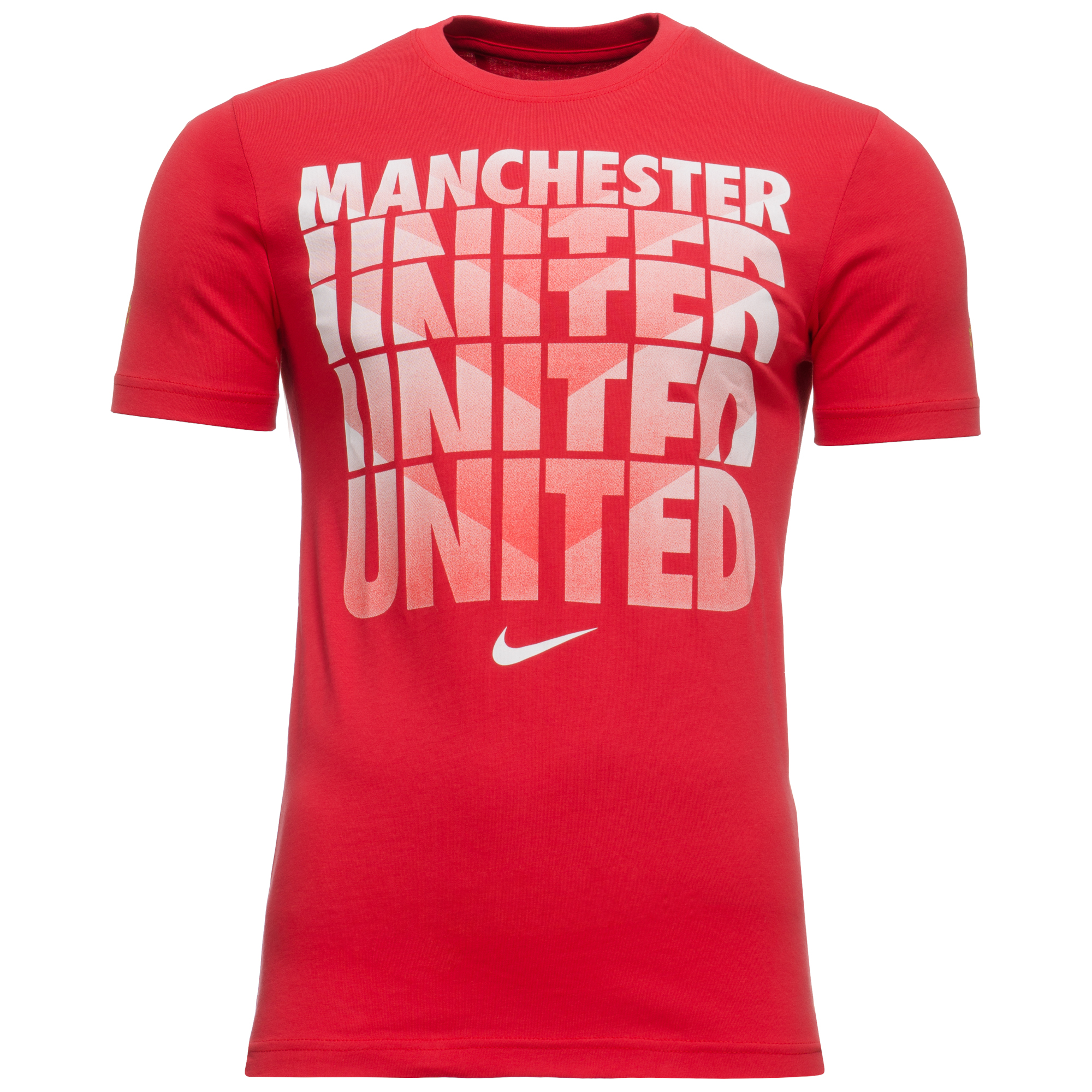 Nike Manchester United T Shirt Core Diablo Red Www