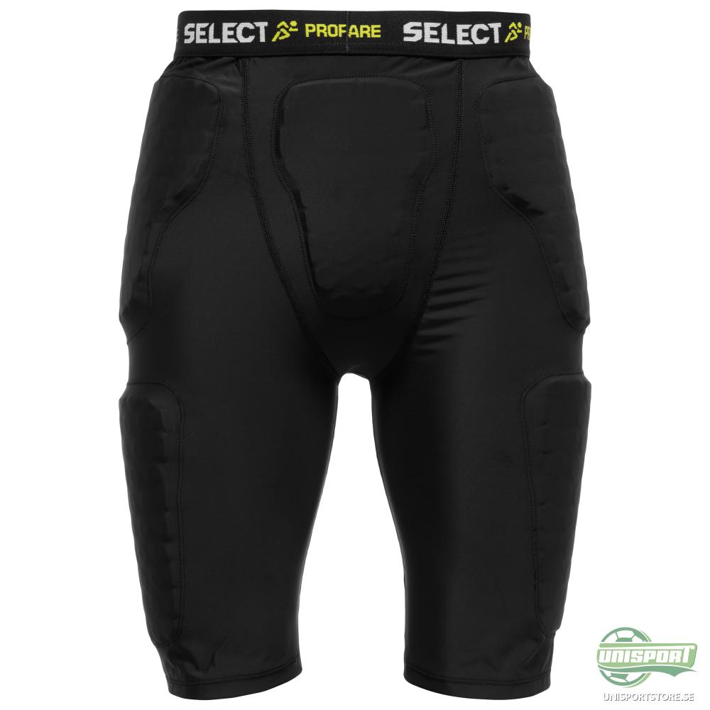 Select Compression Shorts m/Vaddering Svart