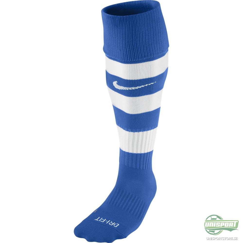 Nike Hoop Fotbollsstrumpor Blå/Vit