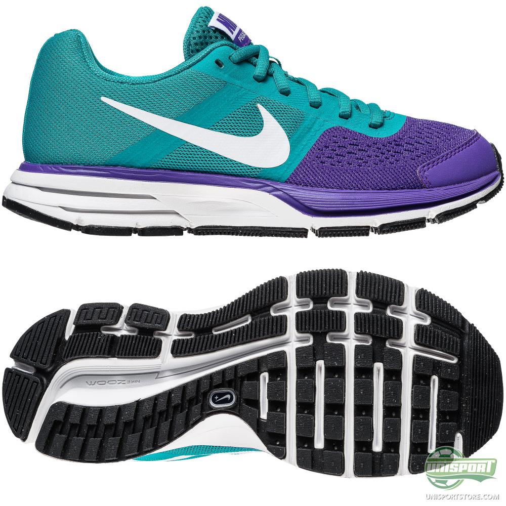 nike purple and turquoise running shoes