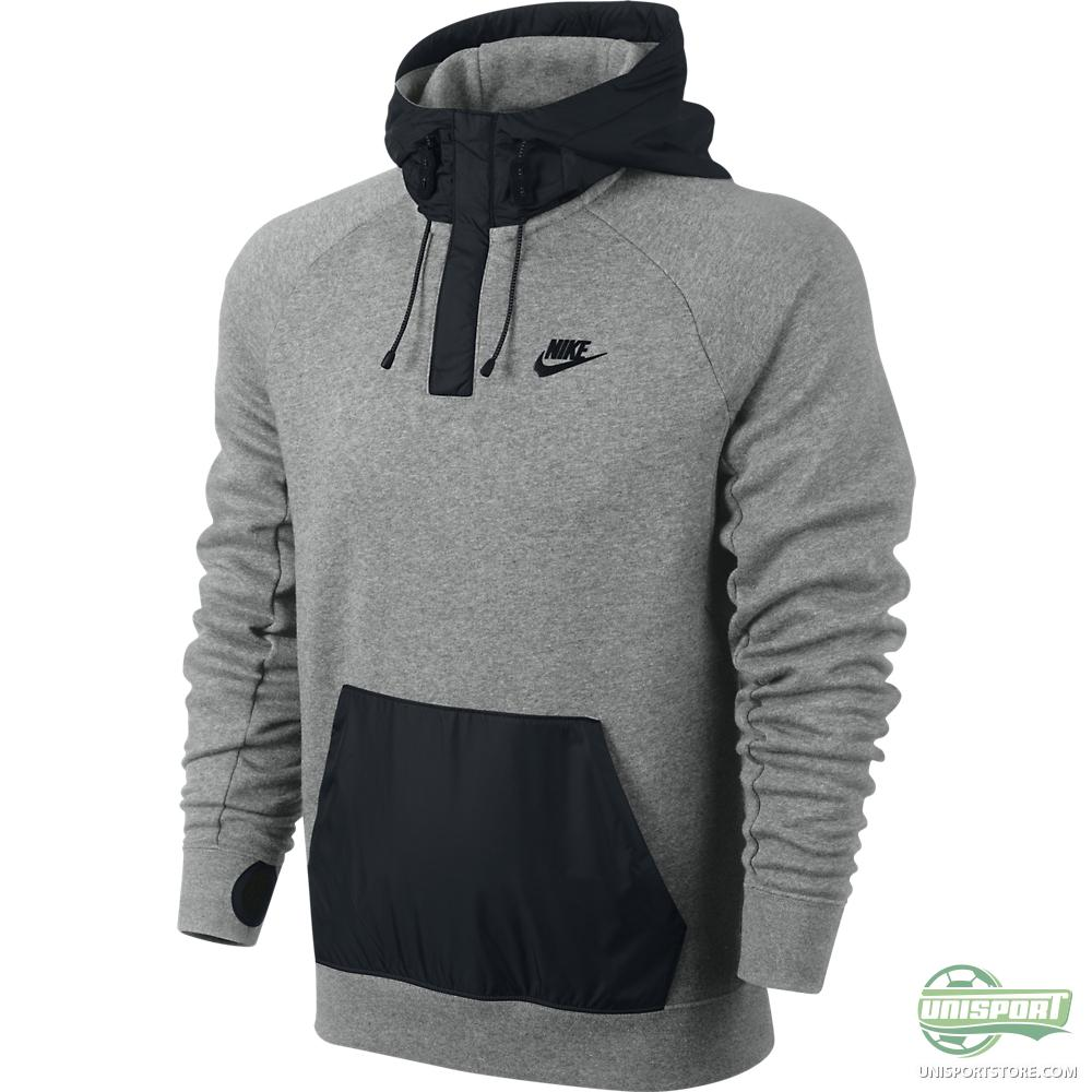 Dark Grey Nike Hoodie Womens - White Polo Sweater