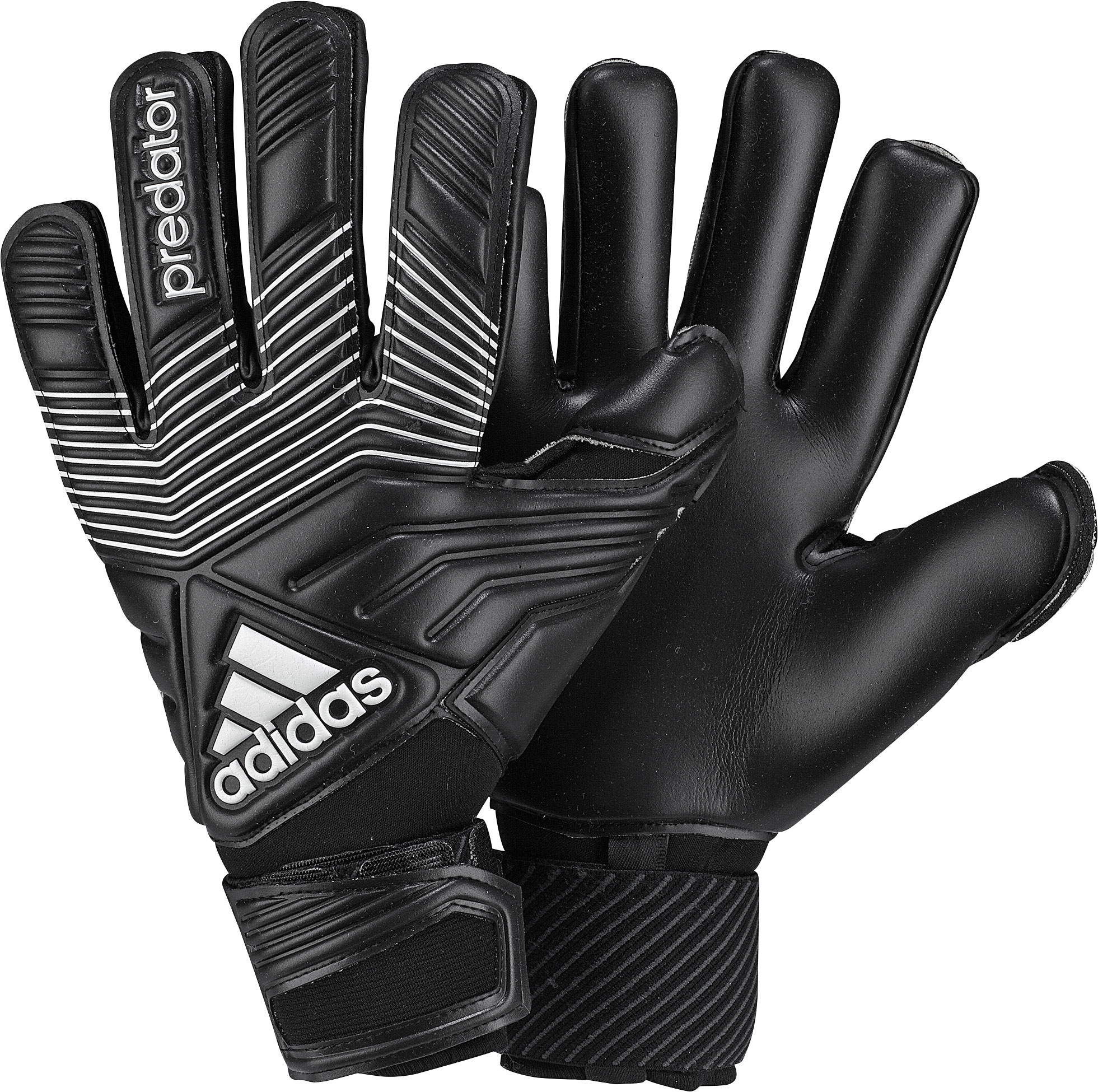 adidas - Goalkeeper Glove Predator Pro Classic Black/White ...