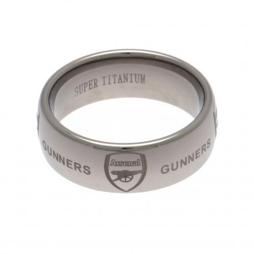 Arsenal Titanium Ring Small