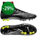 Nike - Mercurial Superfly AG Black/Hyper Punch/White