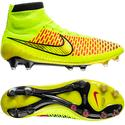 Nike - Magista Obra FG Volt/Metallic Gold Coin/Black