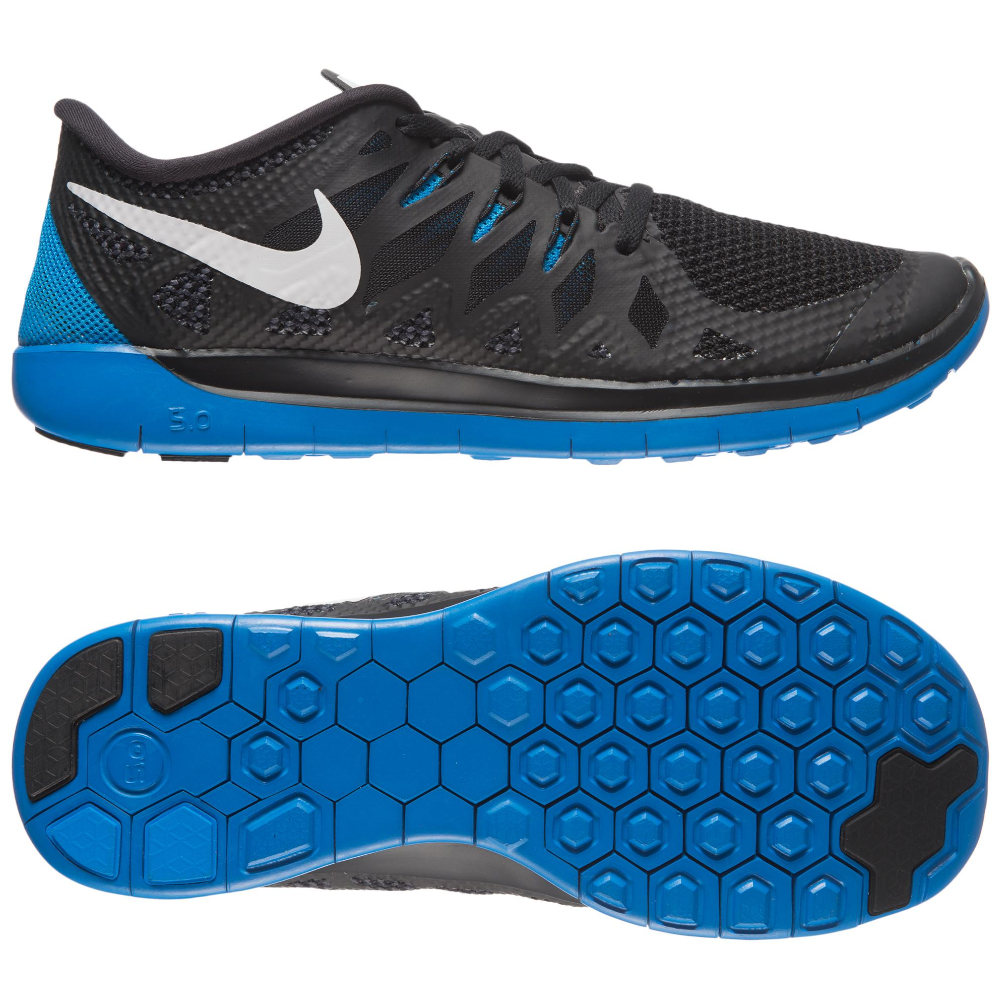 Nike Free 5.0 Blauw