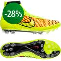 Nike - Magista Obra AG Volt/Metallic Gold Coin/Black