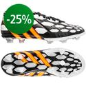 adidas - Predator LZ Instinct FG Running White/Neon Orange/Black Lapset