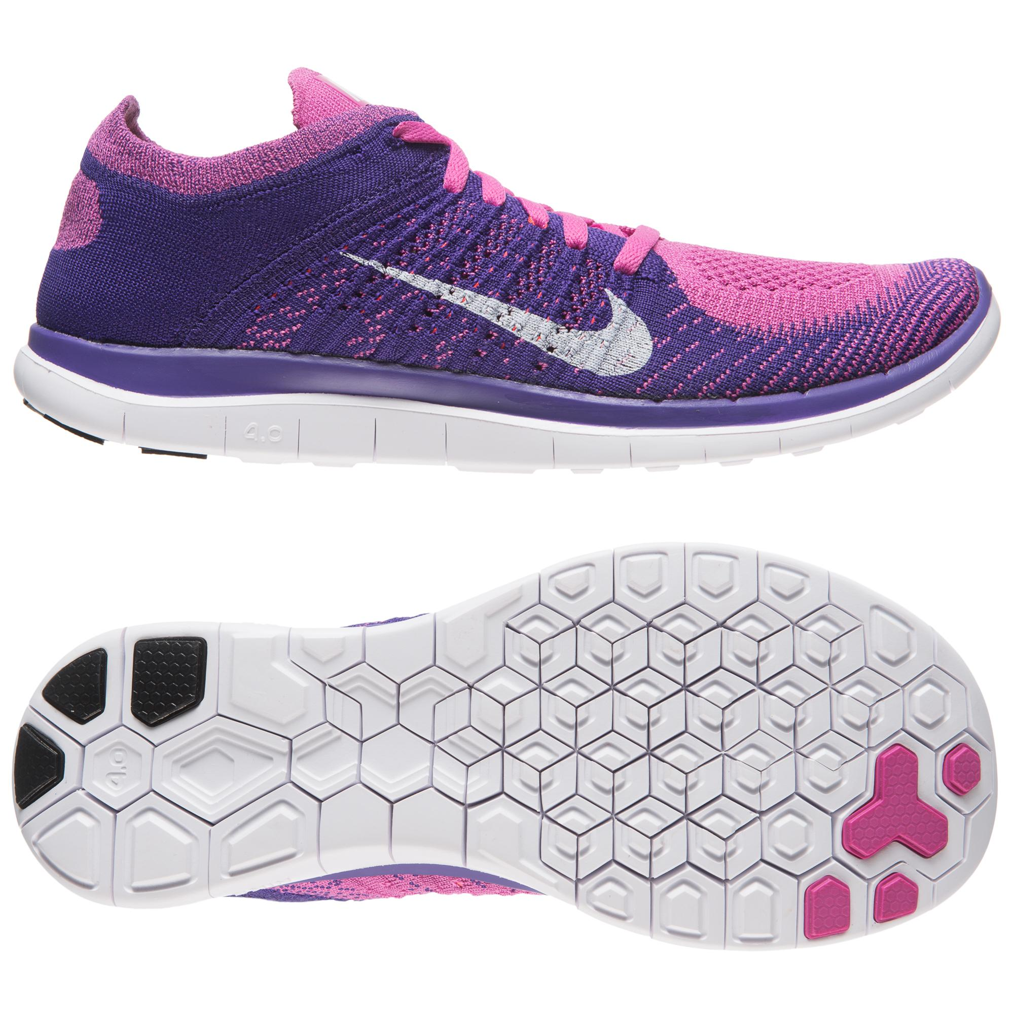 Football365 Nike Free Running Shoe Flyknit 40 Club Pinkcourt Purple Women 120077 Poland