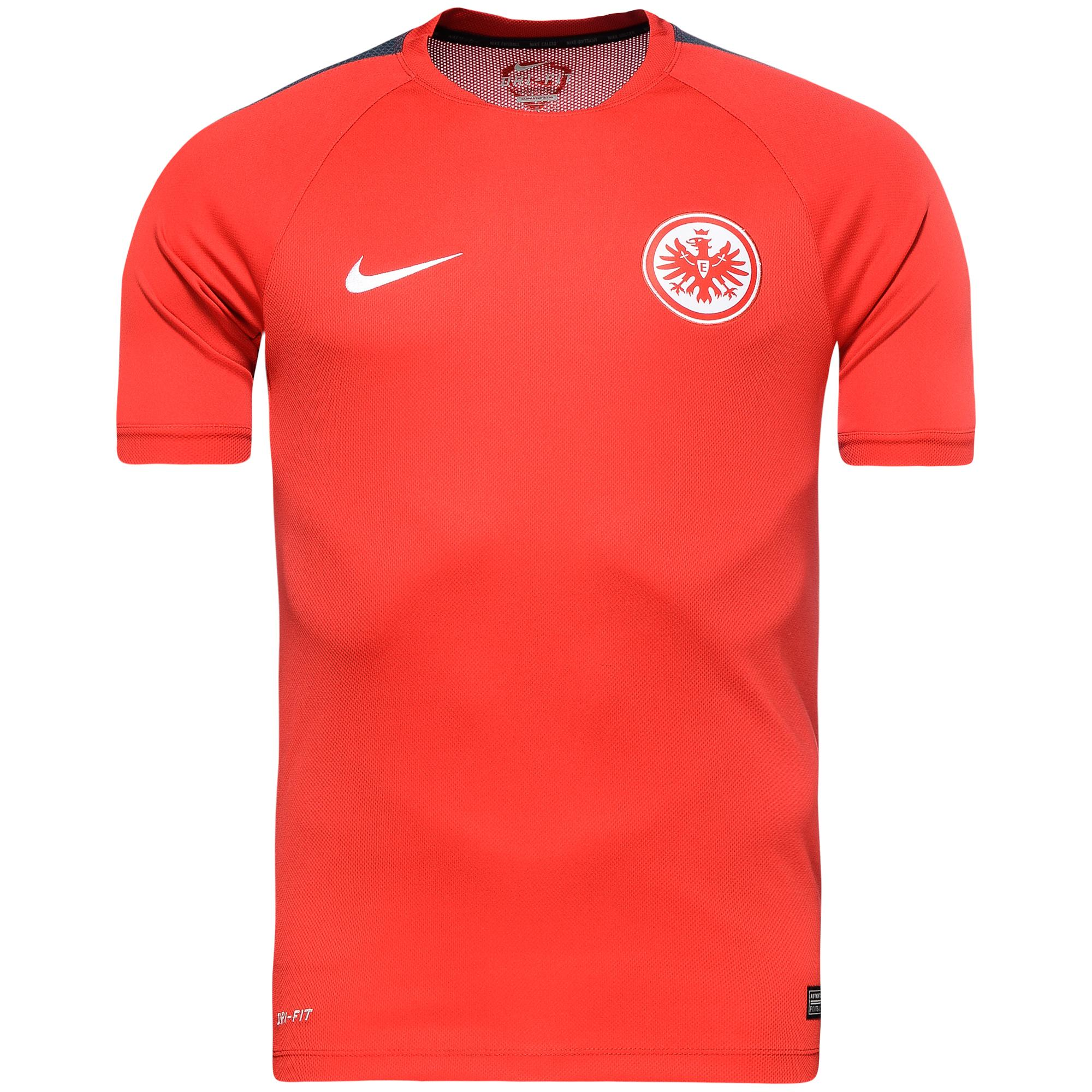 eintracht frankfurt training t shirt squad university. Black Bedroom Furniture Sets. Home Design Ideas