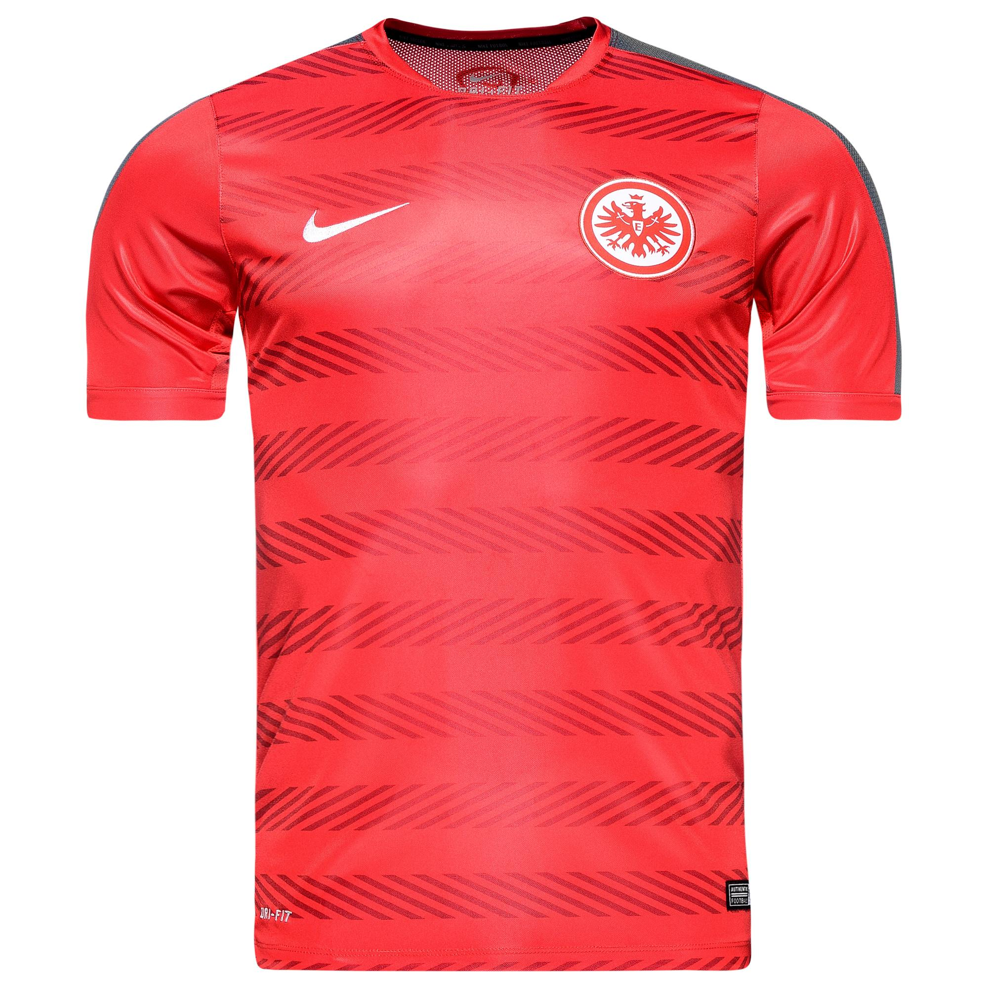 eintracht frankfurt training t shirt squad pre match. Black Bedroom Furniture Sets. Home Design Ideas