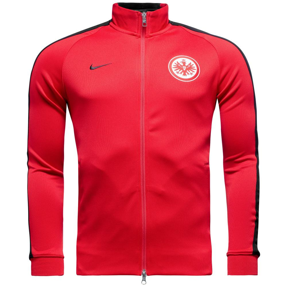 nike eintracht frankfurt n98 track top authentic. Black Bedroom Furniture Sets. Home Design Ideas