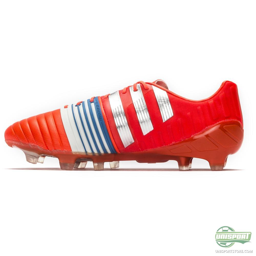 adidas nitrocharge 1 0 fg solar red silver metallic core. Black Bedroom Furniture Sets. Home Design Ideas