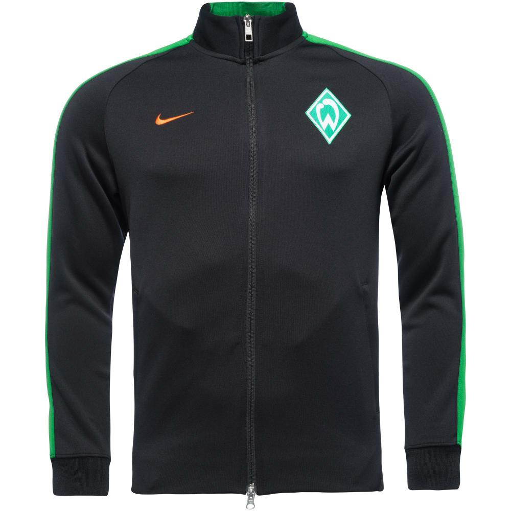 nike werder bremen n98 track top authentic black apple. Black Bedroom Furniture Sets. Home Design Ideas