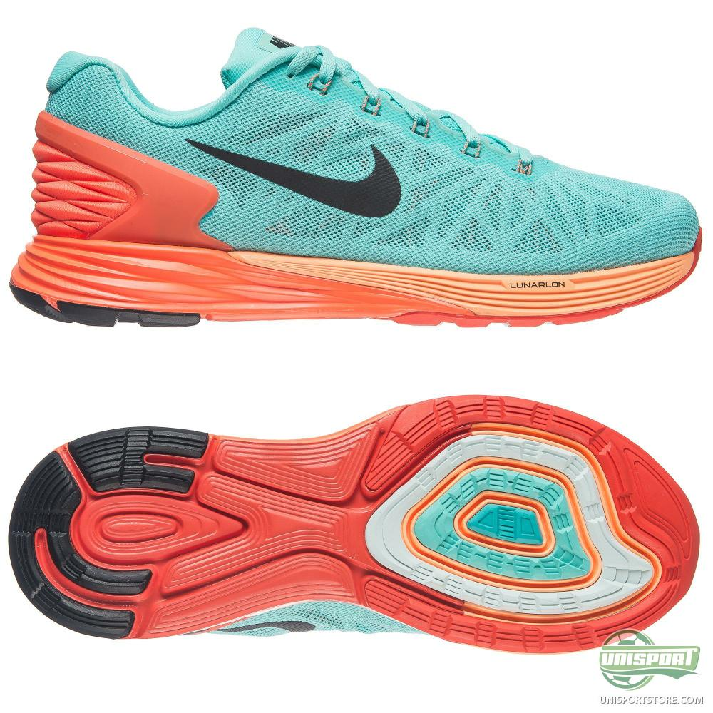 Nike - Running Shoe Lunarglide 6 Turquoise/Orange Women