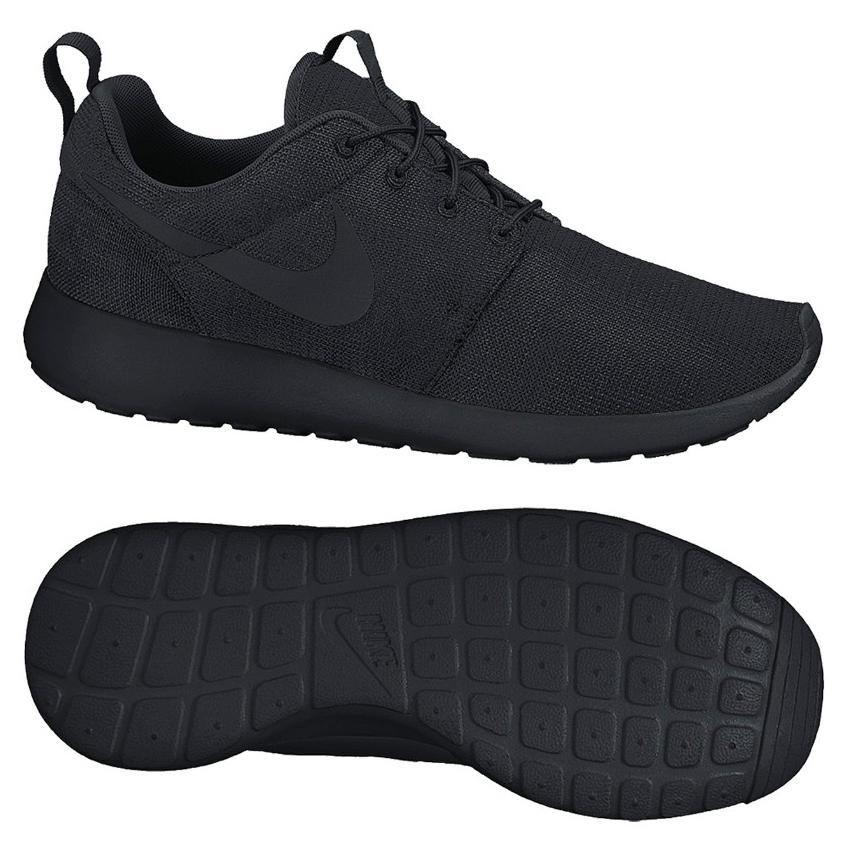 Nike - Roshe Run Blackout | www