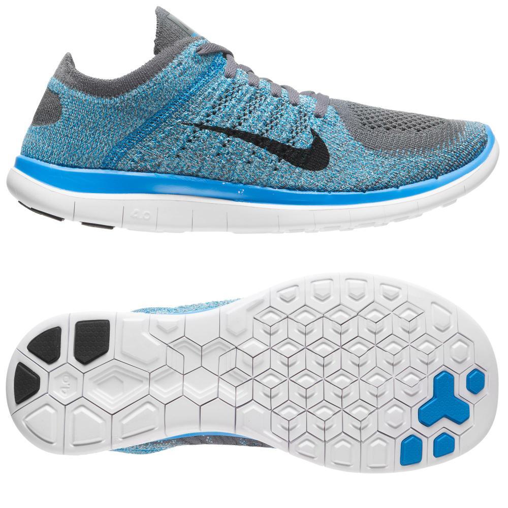 Nike Free 4.0 Flyknit Blue Grey