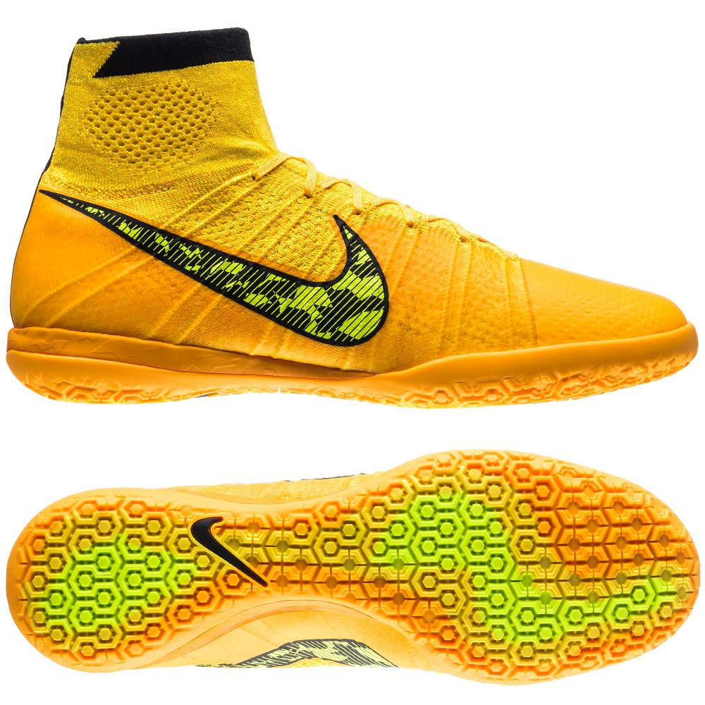 Nike fc247 elastico superfly ic laser orange black white volt www