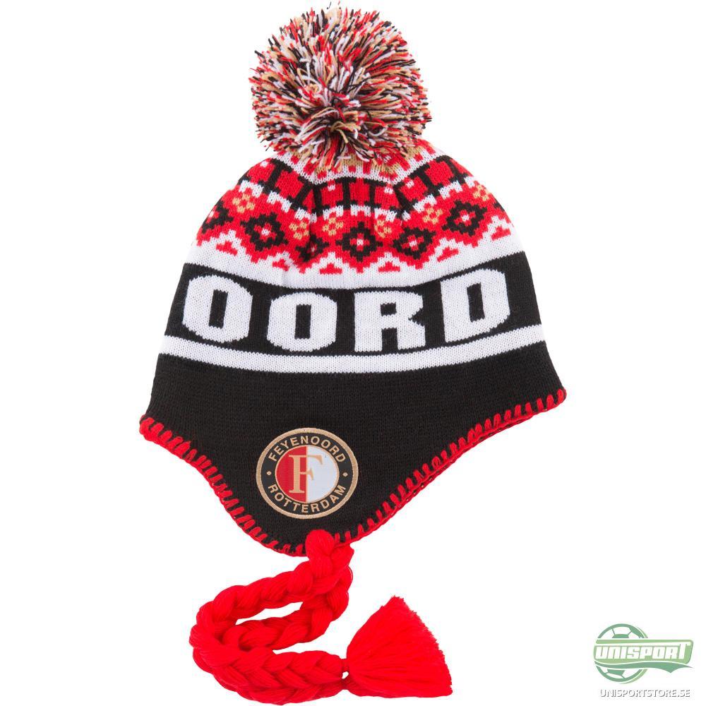 Feyenoord Mössa Svart/Röd/Vit