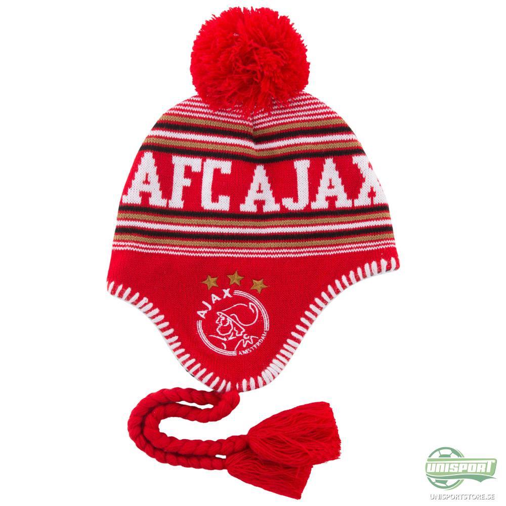 Ajax Mössa Röd/Vit