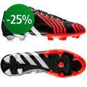 adidas - Predator Instinct FG Musta/Valkoinen/Punainen
