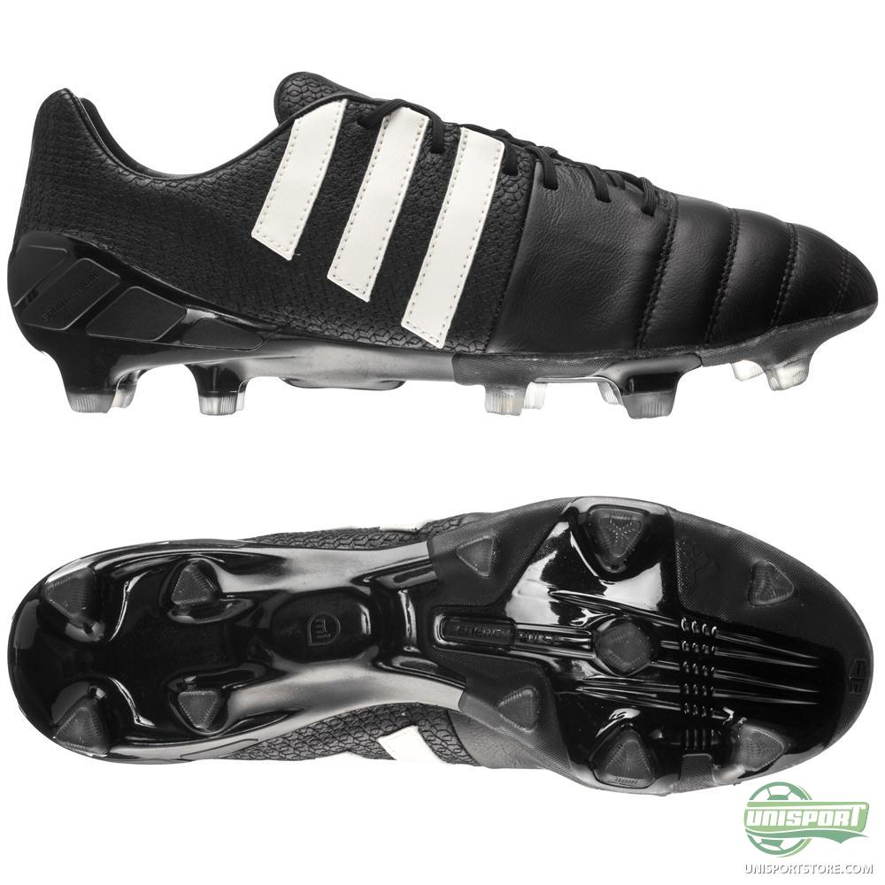 adidas nitrocharge 1 0 pure leather fg black www. Black Bedroom Furniture Sets. Home Design Ideas