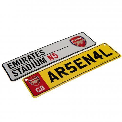Arsenal Fönster- och kylskåpskyltar