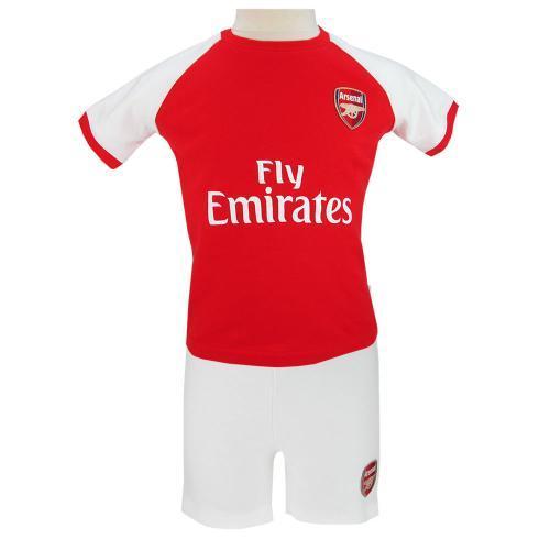 Arsenal T Shirt Shorts Sæt 1823 Måneder Merchandise (1843401991)