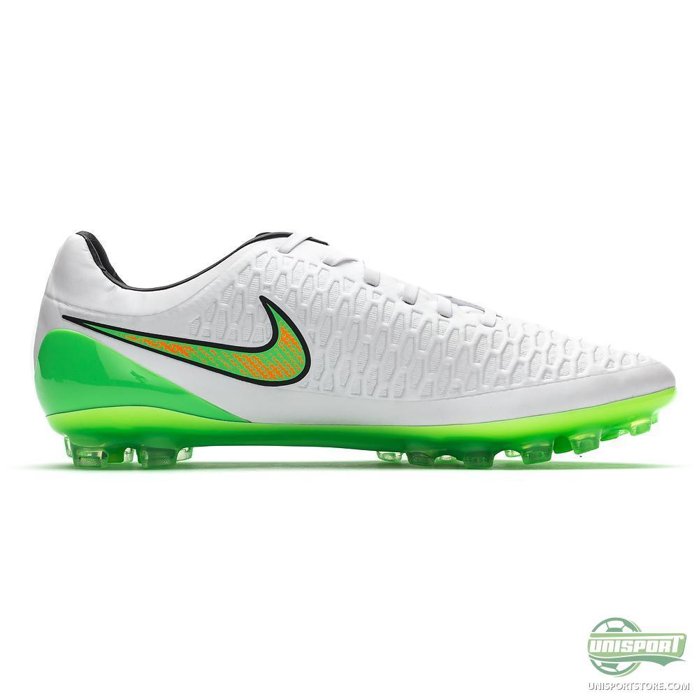 Nike - Magista Opus AG White/Poison Green/Black/Total ...