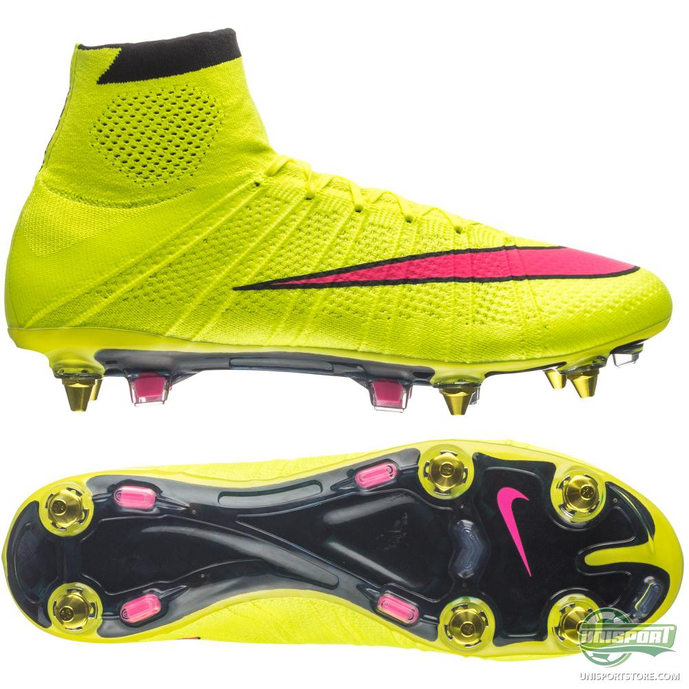 nike mercurial superfly sg pro volt hyper pink black. Black Bedroom Furniture Sets. Home Design Ideas