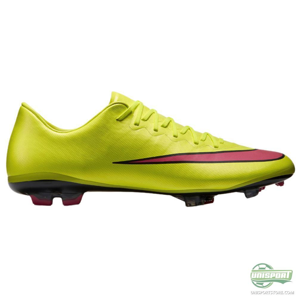 nike mercurial vapor x fg volt hyper pink black kids. Black Bedroom Furniture Sets. Home Design Ideas