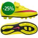 Nike - Mercurial Vortex II FG Neon/Rosa/Svart Barn