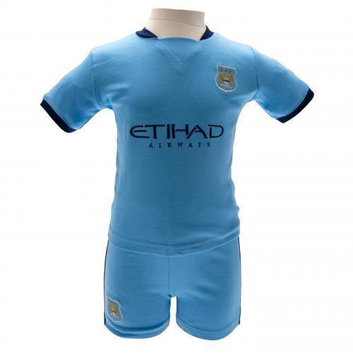 Manchester City Tröja & Shorts 12/18 Månader