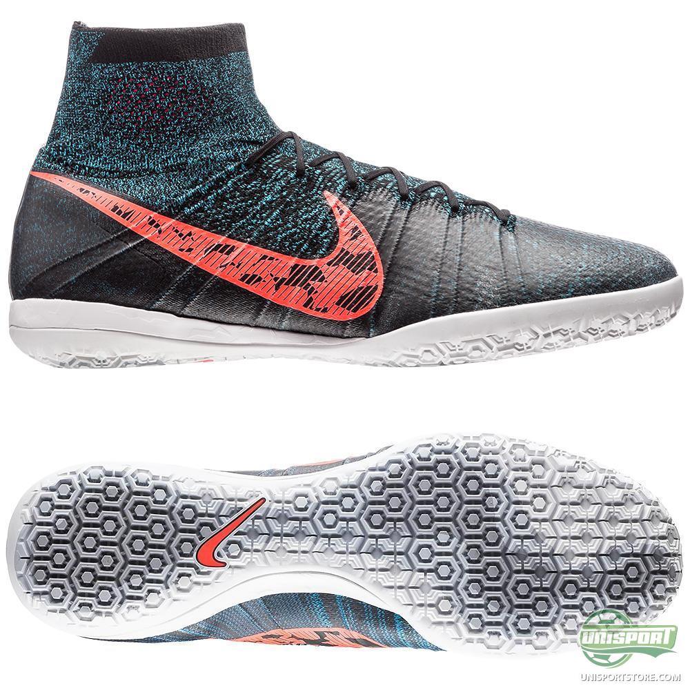 Nike fc247 elastico superfly ic black total crimson blue lagoon dark